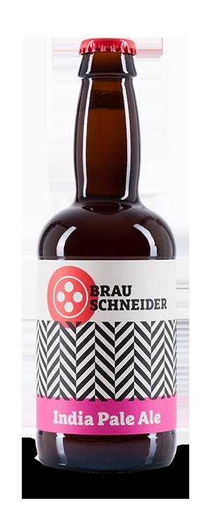 Das IPA (India Pale Ale) Craft Beer von BrauSchneider