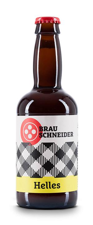 Helles Craft Beer von BrauSchneider